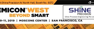 UPCOMING EVENT AT SEMICON WEST 2019